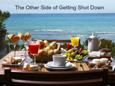 The other side of getting shot down and how to change your mindset to overcome adversity