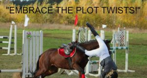 Equestrians getting hurt falling off or dying from riding horses