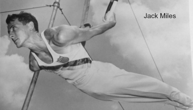 Olympian Gymnast Jack Miles Competing on Rings